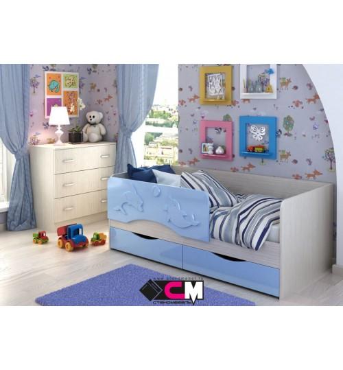 Детская кровать Алиса 1,6м