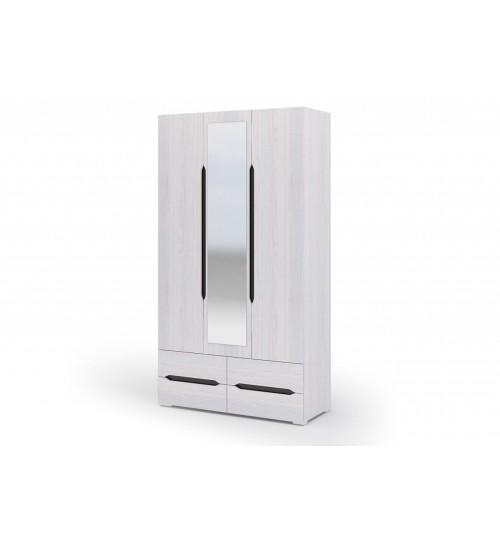 Шкаф 3х ств. с ящиками Валенсия (ШК013)