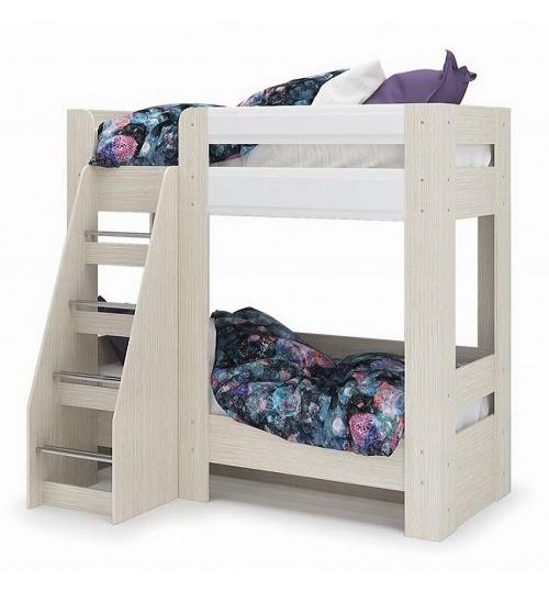 Кровать двухъярусная Симба с матрасами