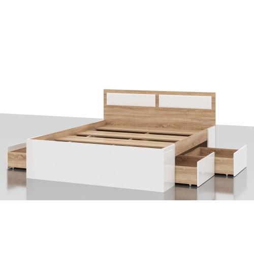 Кровать Беатрис КР 1600 4Я с матрасом